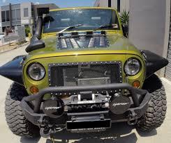 spyder jeep poison spyder hood louver jk