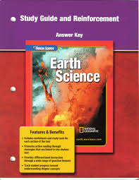 study guide and reinforcement answer key for glencoe earth science