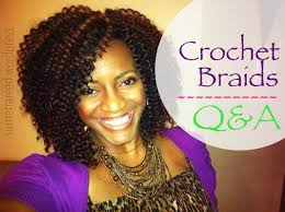 the best hair to use when crocheting 26 natural hair protective style crochet braids q a youtube