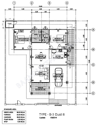 houses plan baan dusit 6 pattaya house type a b c c1 d