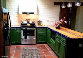 Tucson Kitchen Cabinets Mich L In L A My Mexican Tiled Kitchen