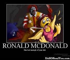 Ronald Mcdonald Phone Meme - ronald mcdonald demotivational graphics for facebook tagged