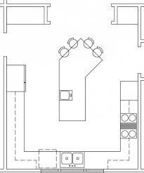 fantastic kitchen layout templates different trends including