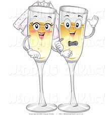 champagne cartoon royalty free champagne stock wedding designs