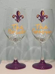 Wedding Gift Glasses 80 Best Wine Glasses Images On Pinterest Hand Painted Wine