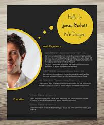 Creative Resumes Templates Free 30 Outstanding Resume Designs You Wish You Thought Of Hongkiat