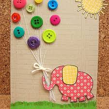 birthday cards for kids button birthday card make a series of these as math mats with a