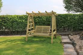 pergola swing churnet valley garden furniture ltd quality handcrafted garden