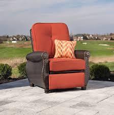 Meridian Patio Furniture by Breckenridge Patio Recliner Brick Red U2013 La Z Boy Outdoor