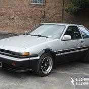 toyota corolla gt coupe ae86 for sale ae86 1986 toyota corolla sr5