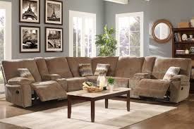 Chenille Reclining Sofa by Ranger Chenille Armless Power Reclining Section