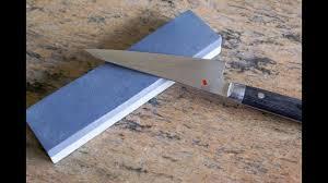 comment aiguiser un couteau de cuisine aiguisage d un couteau à la