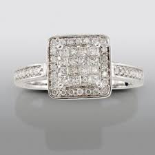 engagement rings sears white gold certified engagement ring stylish from sears