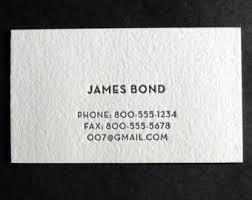 Daniel Ocean Business Card One Color Custom Letterpress Business Cards