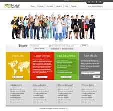 free online home page design free portal templates free job templates job search template