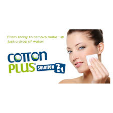 cotton plus 2in1 mini makeup remover pads face cleaner