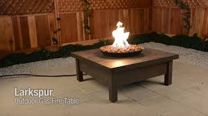 larkspur gas fire table on vimeo