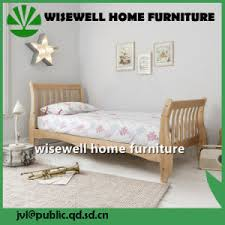 china simple design pine wood single bed for sale w b 5031