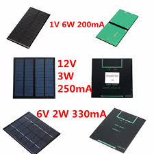 diy phone charger 1 2 3w 6 12v mini solar panel module for light battery cell phone