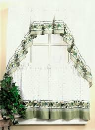 Jcpenney Valances And Swags by Popular Olive Jcpenney Kitchen Curtains Made Of Polyester