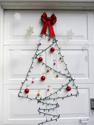 Light String Christmas Tree by 40 Amazing Christmas Decoration Ideas For The Lazy People