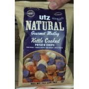 Cape Cod Russet Potato Chips - utz natural kettle cooked potato chips gourmet medley calories
