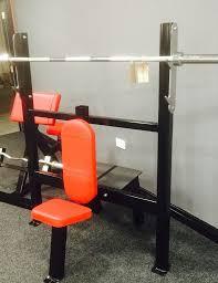 power zone olympic shoulder press bench forsale in ballymoney