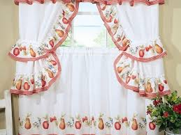 Cape Cod Kitchen Curtains by Burgundy Kitchen Curtains White Wooden Double Door Cabinets Modern
