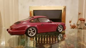 stanced porsche 964 964 rs on singer fuchs wheels dx modelwerks showcase