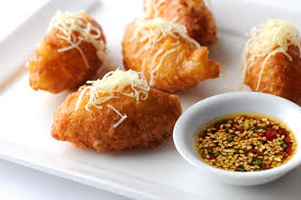 indian canapes ideas gruyère choux fritter recipe great chefs
