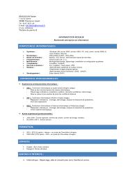 exemple de cv commis de cuisine cv licence pro pdf par faboune fichier pdf page 1 1