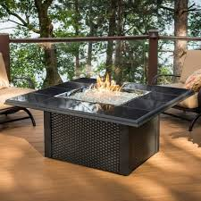 Propane Fire Pits With Glass Rocks by Gas Fire Pit With Glass Rocks Fire Pit Ideas