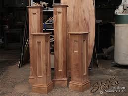 shaka studios custom furniture making a mahogany bed frame