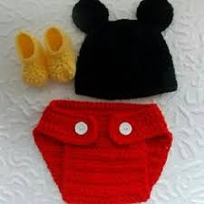 Crochet Newborn Halloween Costumes Baby Boy Crochet Despicable Newborn Halloween Costumes