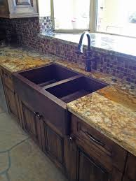 interior hammered copper farmhouse sink table top propane fire