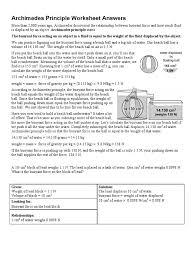 buoyancy worksheet defendusinbattleblog