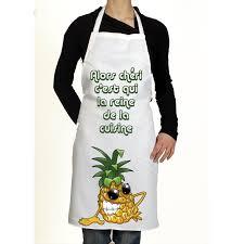 cadeau cuisine femme tablier de cuisine original l ananas idée de cadeau rigolo pour