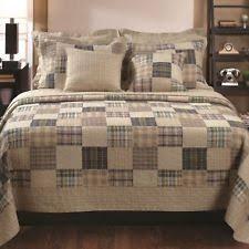 Beige Coverlet Plaid Quilts Bedspreads U0026 Coverlets Ebay
