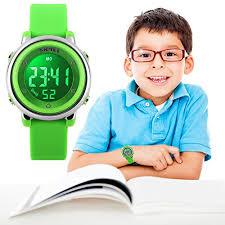 uswat children digital watch outdoor sports watches boy kids girls