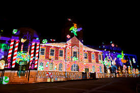 christmas projection lights christmas lights projection dibari associates