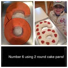 How To Look Happy by How To Create Easy Number Cakes No Special Tins Required Number