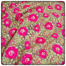 designer fabric kundan embroidered designer fabric india s one stop destination