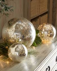 mercury glass ball lights mercury glass balls are the perfect accessory really balls of