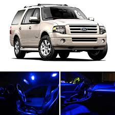 ford expedition amazon com ledpartsnow ford expedition 2003 2013 blue premium led