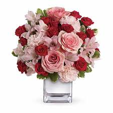 Red Rose Bouquet Love That Pink Bouquet At Send Flowers