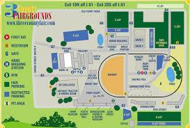 Map Of Northampton Ma Facilities Map Three County Fair Northampton Ma