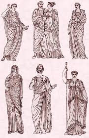 illustration of ancient roman toga u0026 peplos google image http