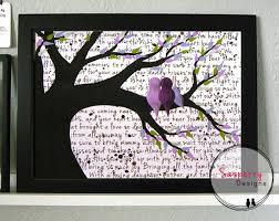 Purple Nursery Decor Bird Nursery New Parent Gift For Baby Bird Nursery Decor