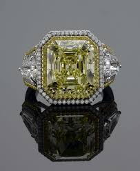 canary yellow engagement rings wedding rings yellow grading canary yellow