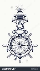 25 best lighthouse tattoos ideas on pinterest nautical drawing